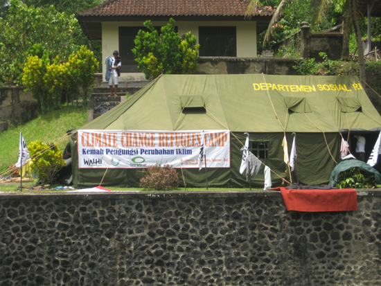 Climate Change Refugees Camp